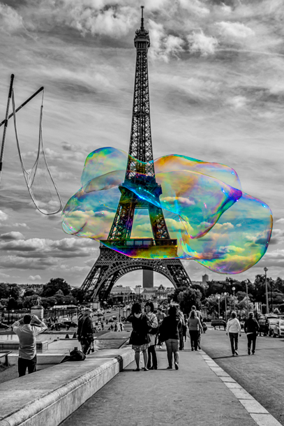 Colorindo o Paris